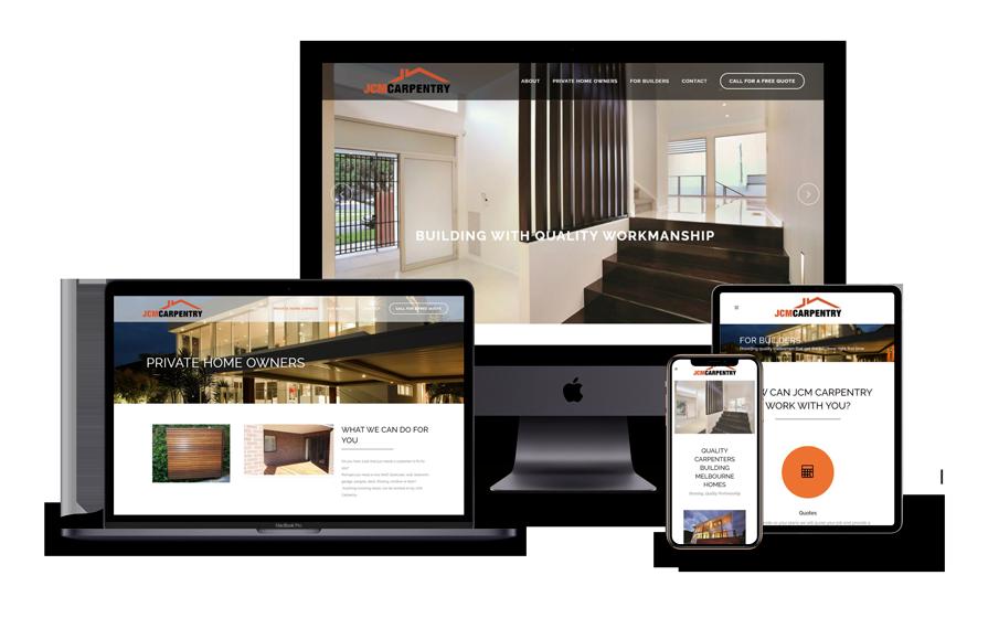 JCM Carpentry website build