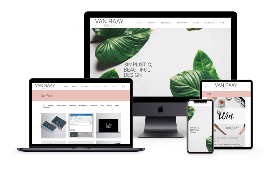 Van Raay Design website